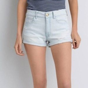 American Eagle Outfitters Shorts - Hi-rise shortie shorts
